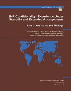 Baixar Imf conditionality: experience under stand-by pdf, epub, eBook