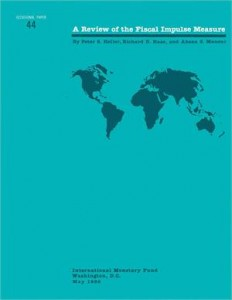 Baixar Review of the fiscal impulse measure, a pdf, epub, ebook