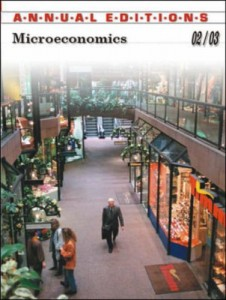 Baixar Annual editions microeconomics 2002-2003 pdf, epub, ebook