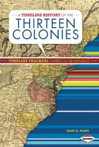 Baixar Timeline history of the thirteen colonies, a pdf, epub, eBook