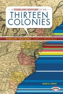 Baixar Timeline history of the thirteen colonies, a pdf, epub, ebook