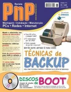 Baixar PnP Digital nº 6 – Técnicas de Backup, Discos de Boot, Instalações elétricas, nonte sua oficina pdf, epub, ebook