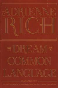 Baixar Dream of a common language: poems 1974-1977, the pdf, epub, ebook