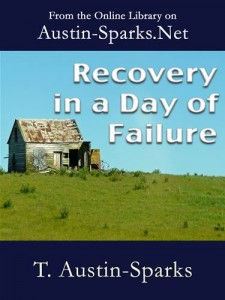 Baixar Recovery in a day of failure pdf, epub, eBook