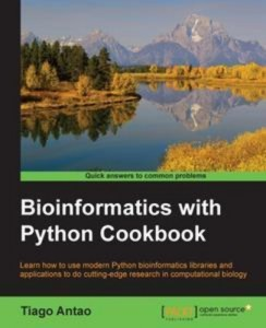 Baixar Bioinformatics with python cookbook pdf, epub, eBook