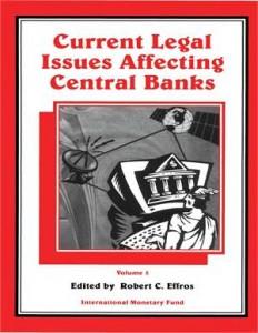 Baixar Current legal issues affecting central banks, pdf, epub, ebook