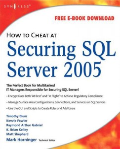 Baixar How to cheat at securing sql server 2005 pdf, epub, eBook