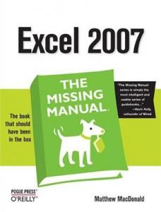 Baixar Excel 2007: the missing manual pdf, epub, eBook