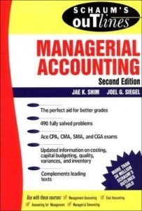 Baixar Schaum's Guideline of Managerial Accounting pdf, epub, eBook