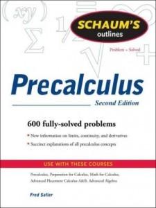 Baixar Schaum's Outline of Precalculus, 2ed pdf, epub, ebook