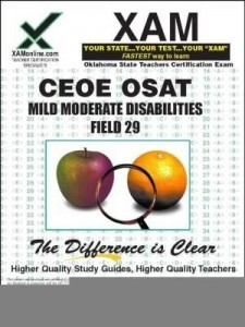 Baixar Ceoe Osat Mild Moderate Disabilities Field 29 pdf, epub, ebook
