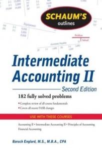 Baixar Schaum's Outline of Intermediate Accounting II, 2ed pdf, epub, ebook
