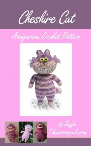 Baixar Cheshire cat amigurumi crochet pattern pdf, epub, ebook