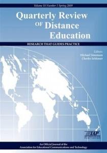 Baixar Quarterly review of distance education vol. 10 pdf, epub, eBook