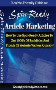 Baixar How to spin ready article marketing pdf, epub, eBook