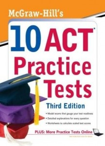 Baixar McGraw-Hill's 10 ACT Practice Tests, Third Edition pdf, epub, ebook