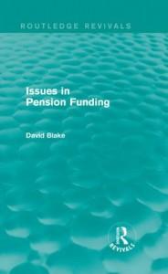 Baixar Issues in pension funding pdf, epub, eBook