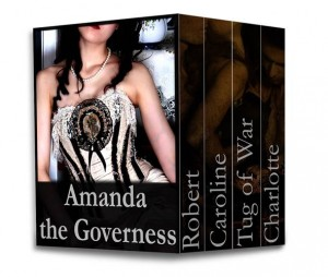 Baixar Amanda the governess: box set pdf, epub, ebook