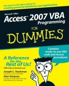 Baixar Access 2007 VBA Programming For Dummies pdf, epub, ebook