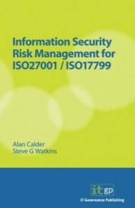 Baixar Information Security Risk Management for ISO 27001/ISO 17799 pdf, epub, eBook