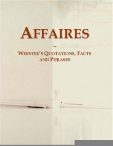 Baixar Affaires: Webster¿s Quotations, Facts and Phrases pdf, epub, eBook