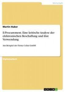 Baixar E-procurement. eine kritische analyse der pdf, epub, eBook