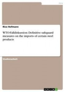 Baixar Wto-falldiskussion: definitive safeguard pdf, epub, eBook