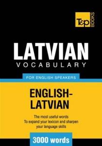 Baixar Latvian vocabulary for english speakers – 3000 pdf, epub, ebook