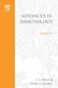 Baixar ADVANCES IN IMMUNOLOGY VOLUME 16 pdf, epub, ebook
