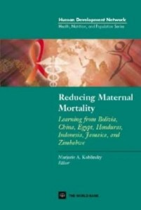 Baixar Reducing Maternal Mortality: Learning from Bolivia, China, Egypt, Honduras, Indonesia, Jamaica and Z pdf, epub, eBook