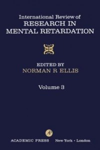Baixar INT'L REV OF RESRCH IN MENTL RETARDTN V3 pdf, epub, ebook