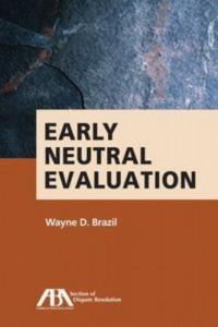 Baixar Early neutral evaluation pdf, epub, eBook