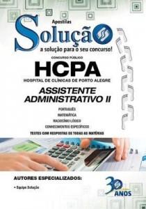 Baixar Apostila digital HCPA – Assistente Administrativo – Hospital de Clínicas de Porto Alegre pdf, epub, ebook