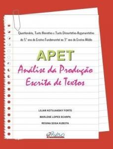 Baixar APET – Análise da Produção Escrita de Textos pdf, epub, ebook