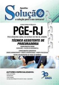 Baixar Apostila Digital Técnico Assistente de Procuradoria – Procuradoria Geral do Estado do Rio de Janeiro pdf, epub, ebook