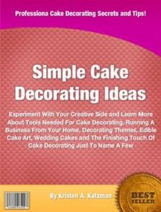 Baixar Simple cake decorating ideas pdf, epub, ebook