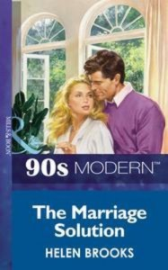 Baixar Marriage solution (mills & boon vintage 90s pdf, epub, eBook