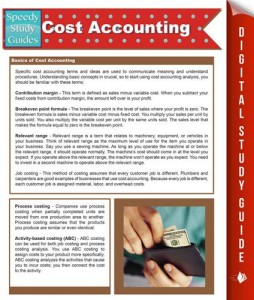 Baixar Cost accounting (speedy study guides) pdf, epub, ebook