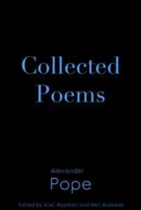 Baixar Collected poems of alexander pope pdf, epub, ebook