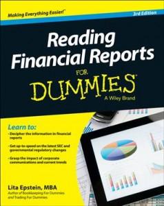 Baixar Reading financial reports for dummies pdf, epub, ebook