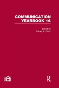 Baixar Communication yearbook 16 pdf, epub, ebook