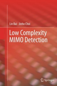 Baixar Low complexity mimo detection pdf, epub, eBook