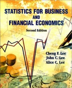 Baixar Statistics for business and financial economics pdf, epub, eBook
