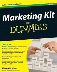 Baixar Marketing kit for dummies pdf, epub, ebook