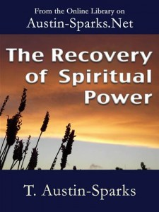 Baixar Recovery of spiritual power, the pdf, epub, eBook