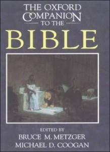 Baixar Oxford companion to the bible, the pdf, epub, ebook