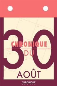 Baixar Chronique du 30 aout pdf, epub, eBook