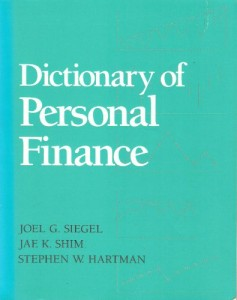 Baixar Dictionary of personal finance pdf, epub, eBook