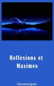 Baixar Reflexions et maximes pdf, epub, ebook