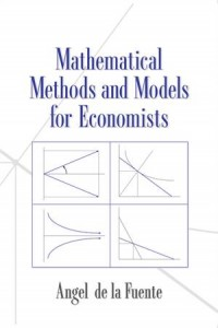 Baixar Mathematical methods and models for economists pdf, epub, eBook